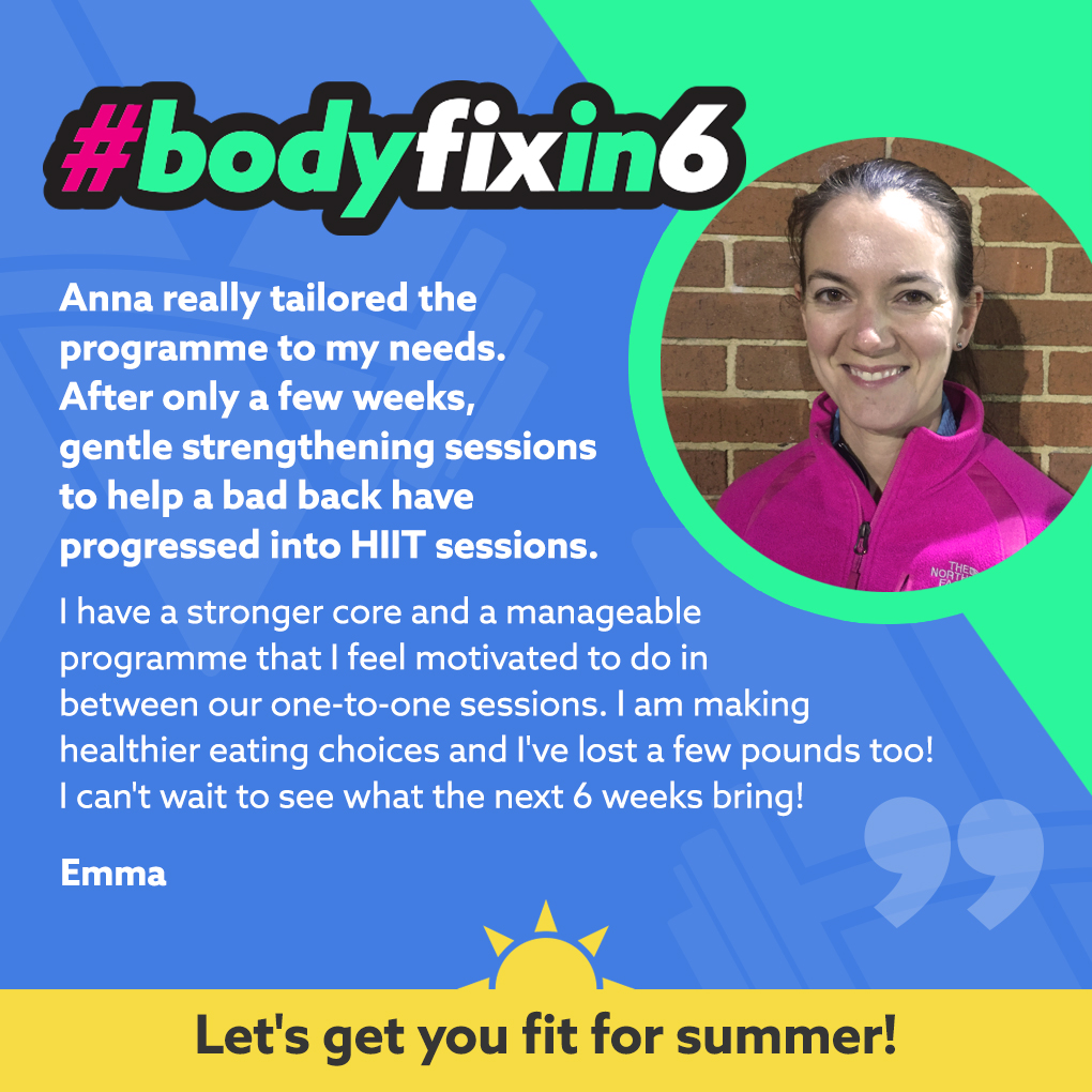 Emma loved #bodyfixin6 because
